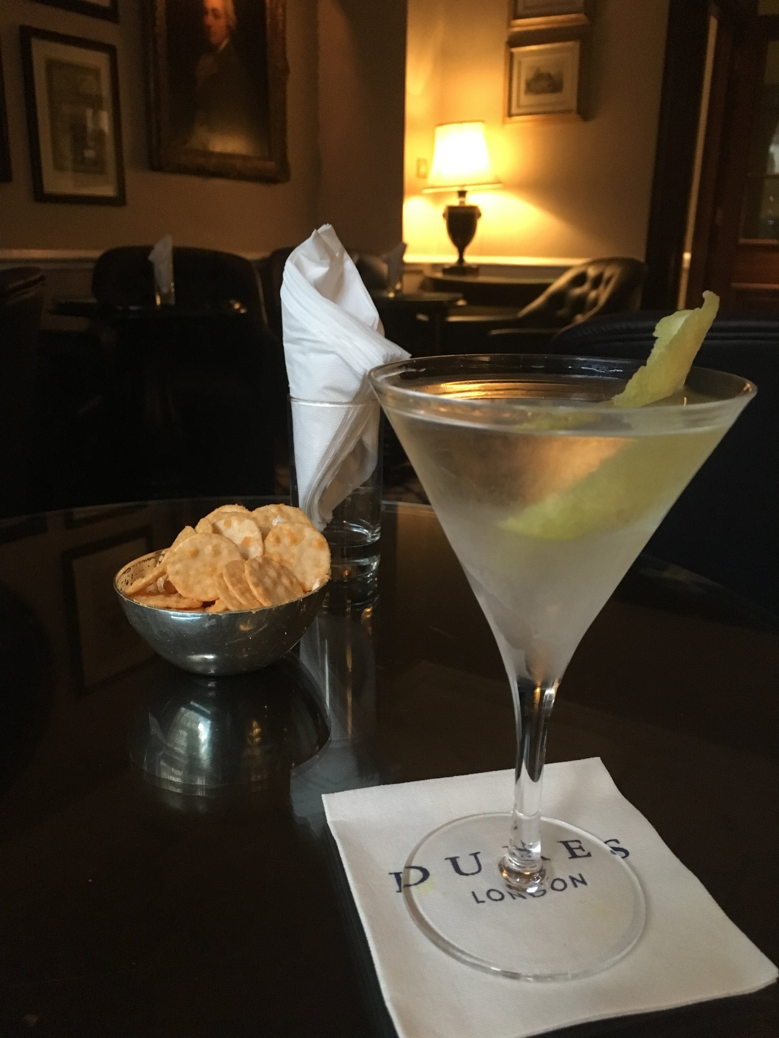 A little moderate abstention makes The Best Martini In The World all the more delicious!