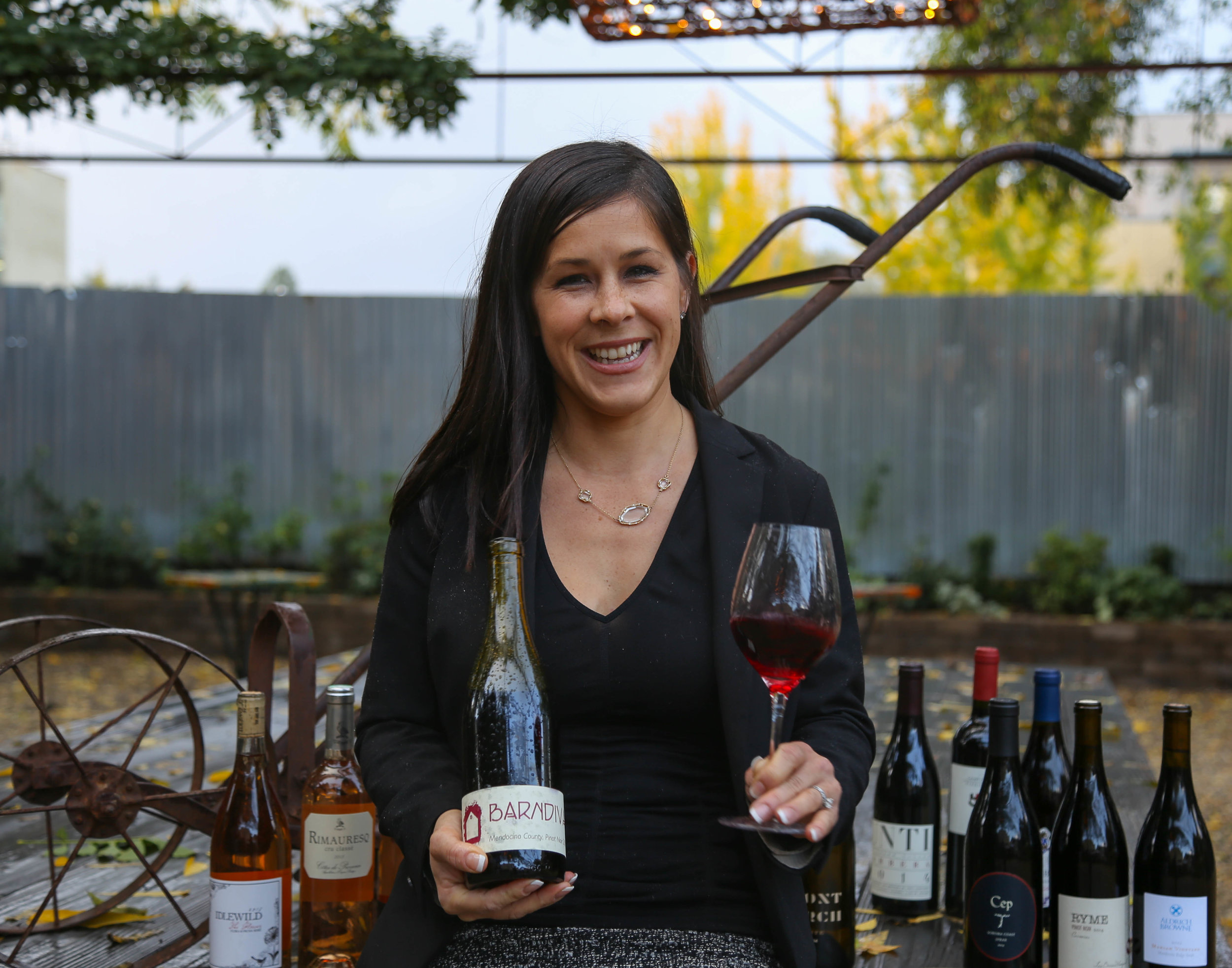 Leading the team behind The Somm's Table, Alexis Iaconis, with some of our first picks.
