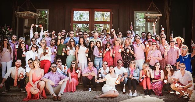 The gang was all here 😍😘 go to Barndiva.com/blog for the full Pink Party album.  @bansheewines @brickandmortarwines @campesinocellars  @claypoolcellars  @copainwines  @county_line_vineyards  @cruxwinery  @domainesott  @duttongoldfieldwinery  @enfieldwineco  @ernestvineyards  @flowerswinery  @gail.wines  @garyfarrellwinery  @guthriefamilywines  @handleycellars  @idlewildwines  @josephjewellwines  @lapitchounewinery  @liocowineco  @littoraiwine  @macrostiewinery  @mauritsonwines  @moshin_vineyards  @peay_vineyards  @prestonfarmandwinery  @raftwines  @reevewines  @relicwines  @roedererestate  @satyrewines  @scribewinery  @smithstorywines  @sophiejameswine  @spirecollection  @fieldstonevintage  @trailmarkerwineco  @untivineyards  @westandwilder
