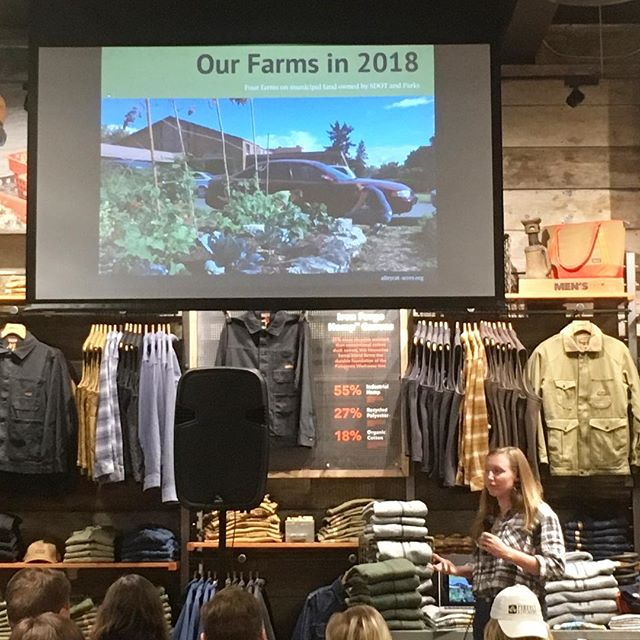 Thanks @patagoniaballard for hosting a great event last night highlighting local fermenters and supporting Alleycat Acres. With @fireflykitchensseattle @finnriver @skalballard @ferndalefarmsteadcheese @saltblademeats