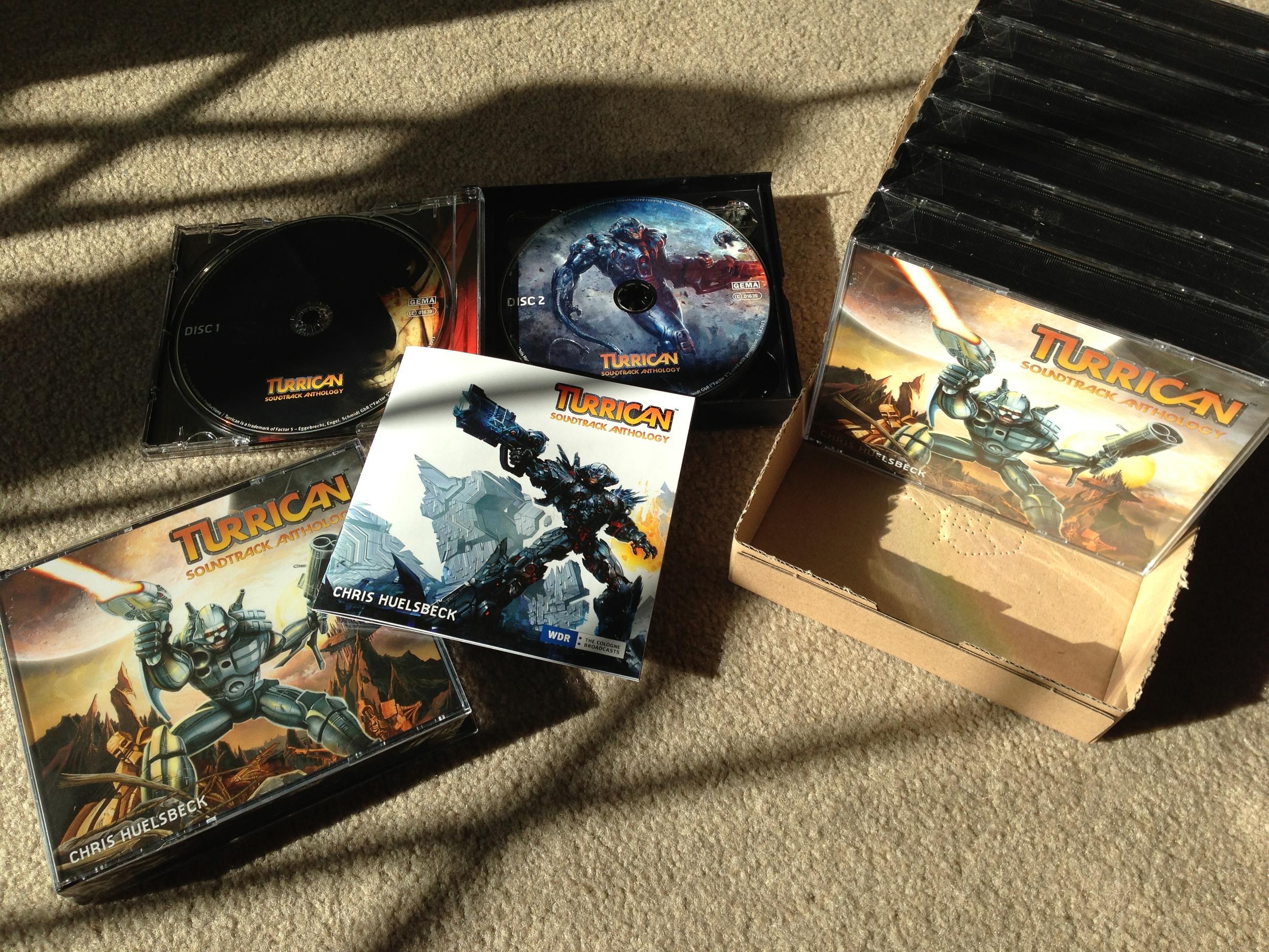 Turrican Soundtrack Anthology Album Reserve Unit sale
