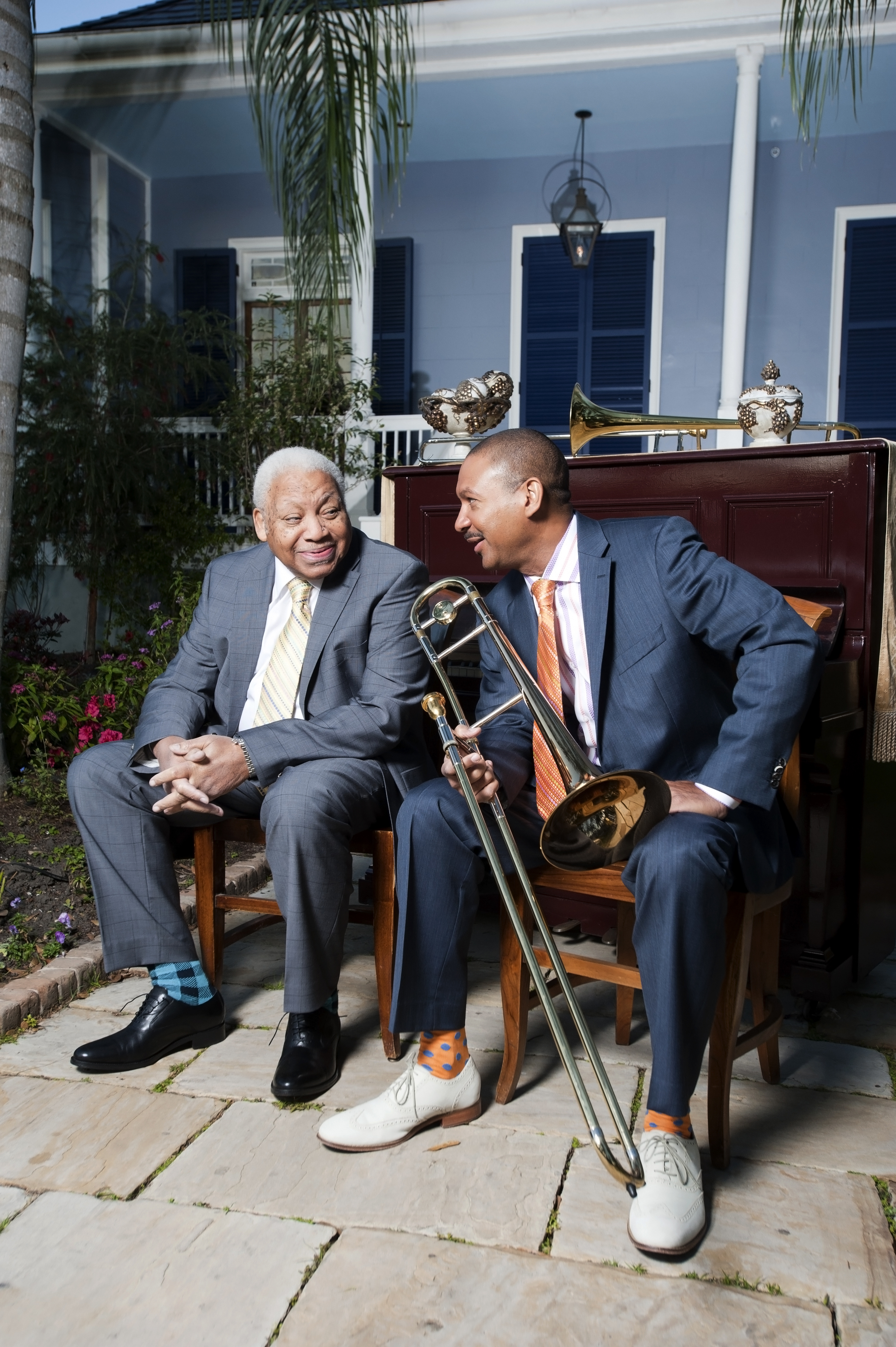 Ellis and Delfeayo Marsalis, 2013.