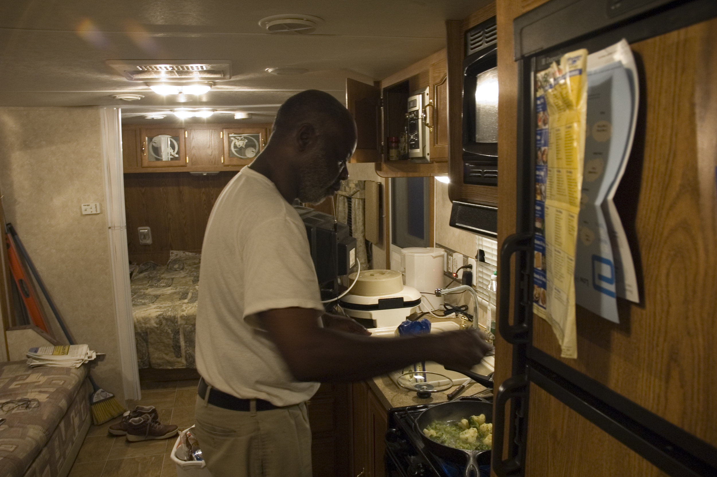 FEMA Trailer King, 2006.