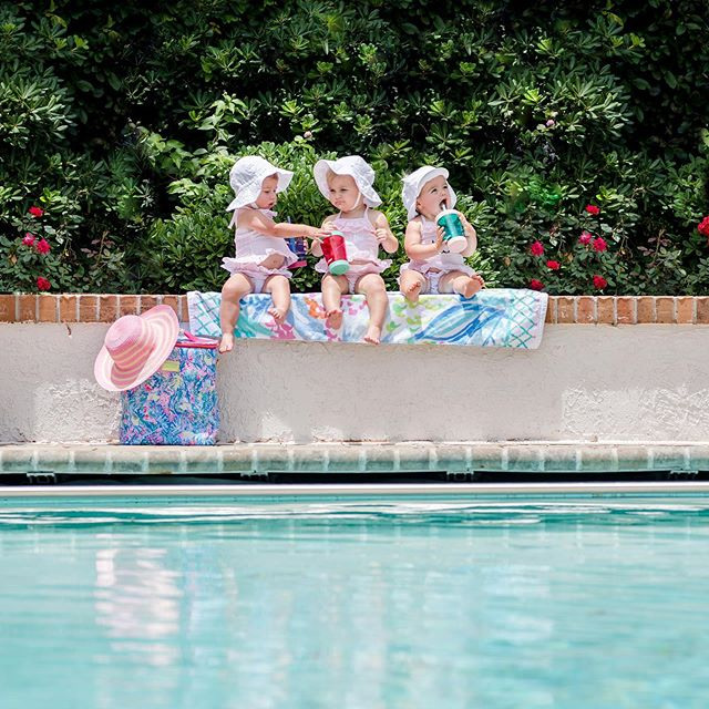 Friends, sunny days, the pool, and Lilly Pulitzer 🌸 ☀️ 👯 🏊♀️ . . . . . #myrtlebeach #myrtlebeachphotographer #babyfever #childphotography #photography #portraitphotography #familyphotography #photographer #kids #childhoodunplugged #childportraits #familyphotographer #easter #photo #photooftheday #letthembelittle #baby #portraitphotographer #familypictures #children #lifestylephotography #toddlerphotography #pool #summertime #seersucker #monogrameverything #lillypulitzer #fortheloveoflilly