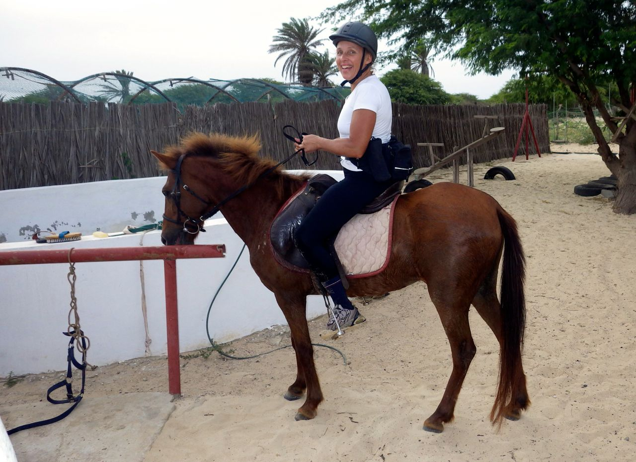 A great horse that liked to go fast! Really enjoyed riding!