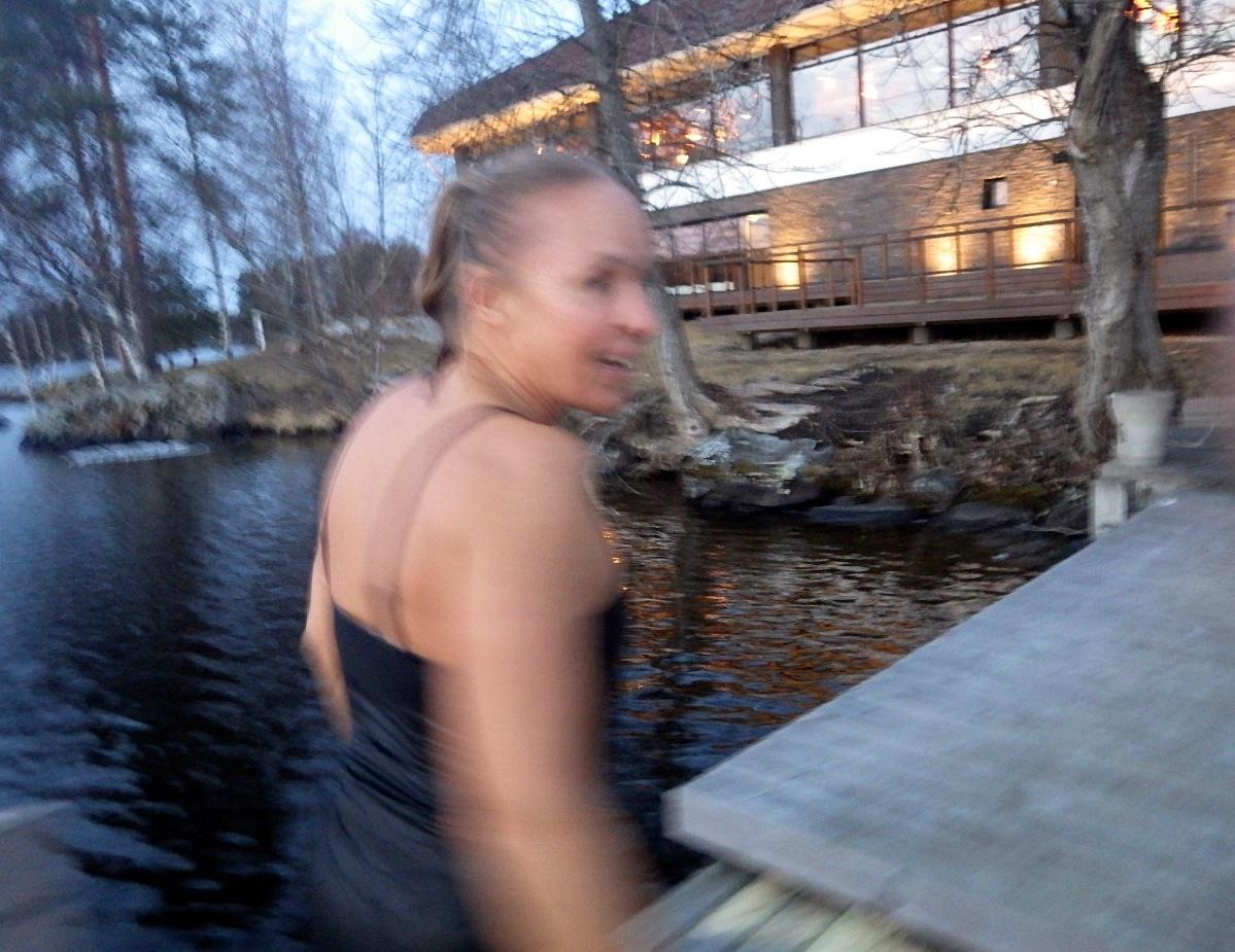 Back to the sauna!