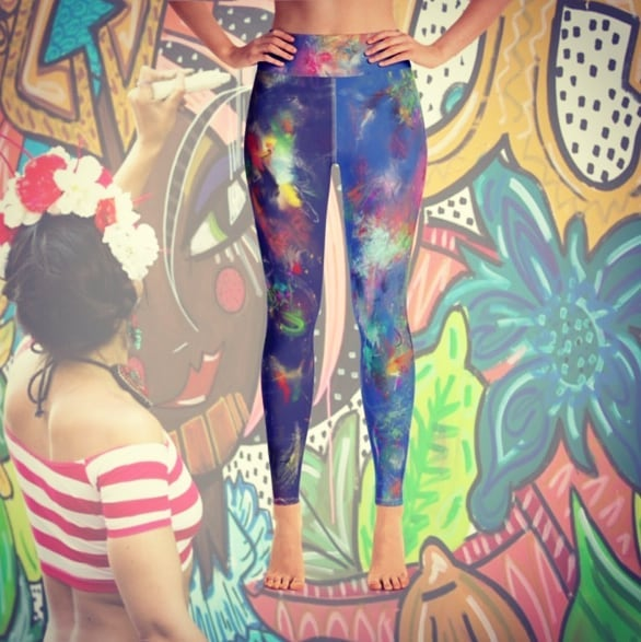 All the time when I am painting people pull me aside and ask me about my special bi-color painting leggings and if I could sell them! Well, while I can't sell you the leggings directly from my body, I designed these awesome leggings inspired by my own popular pants so you can strut down the street feeling the creative juices poured into the numerous public and street art projects I have made over the past decade!  They are available NOW, on my new website www.sokokistudios.com and much more amazing products as well... So be sure to check everything out.  Please follow us on Facebook and or Instagram to get a special 10% discount valid through 11/05 !  @sokokistudios . . . #CHINONMARIA #sokokistudios #makeartnotwar #leggings #yogapants #streetart #urbanart #popart #femart #feminist #girlpower #girlboss #painting #kidswear #kidsleggings #healthyliving #supportsmallbusiness #nycartist #murals #nycwalls #tgif #splashpaint