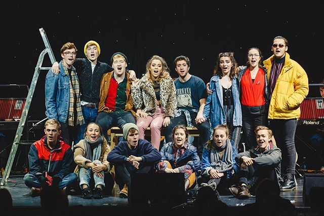 It's your very last chance! 💥 RENT's final performance opens in just 20 minutes. We are sad to go but hope we will see you there!  #nodaybuttoday