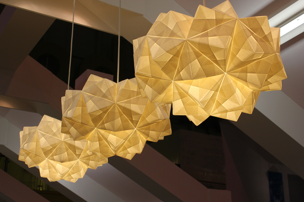 Origami Lighting at Grand designs live 2