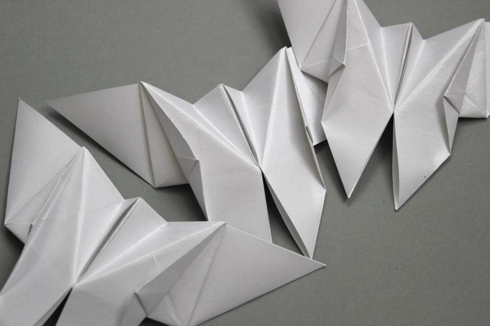 Bespoke origami butterfly perrier jouet