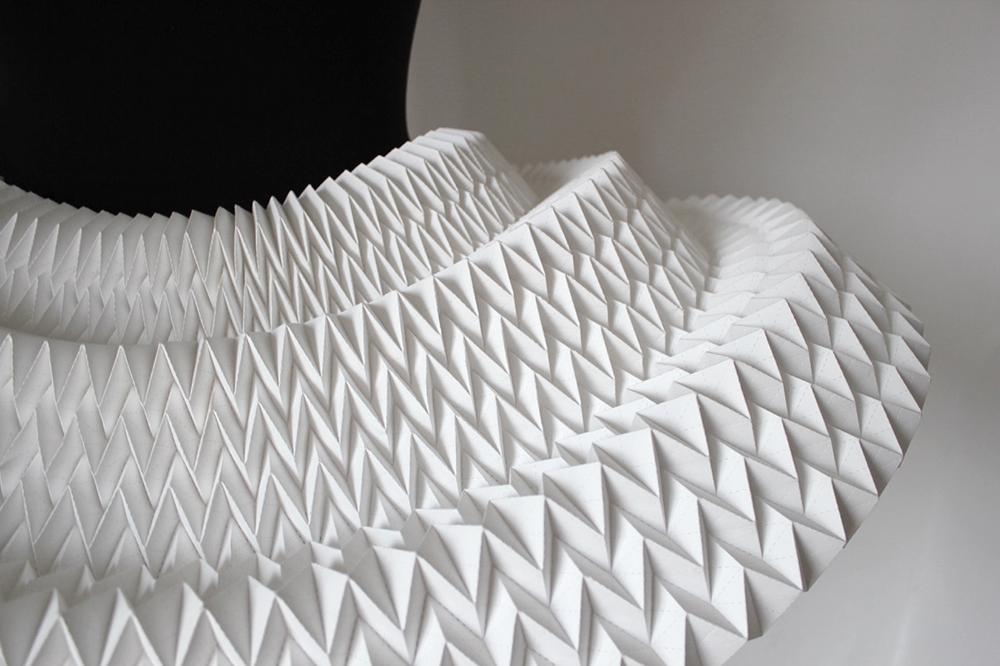 Origami paper tutu ted baker
