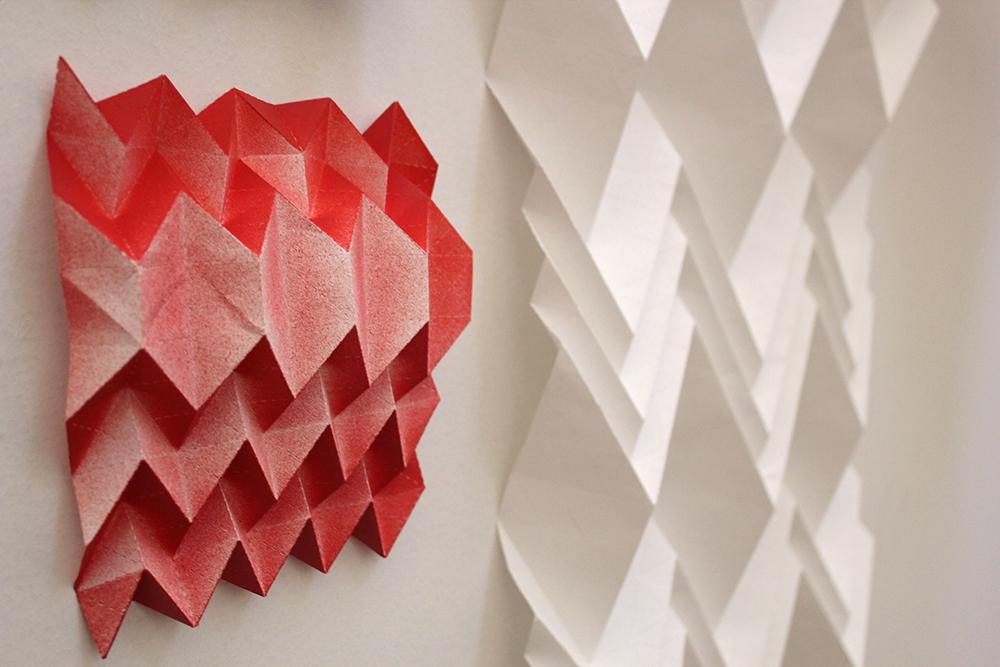 Paper art workshop origami glasgow school of art