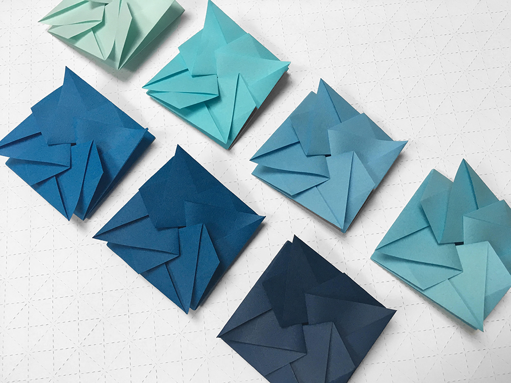 Origami workshop for Now Gallery