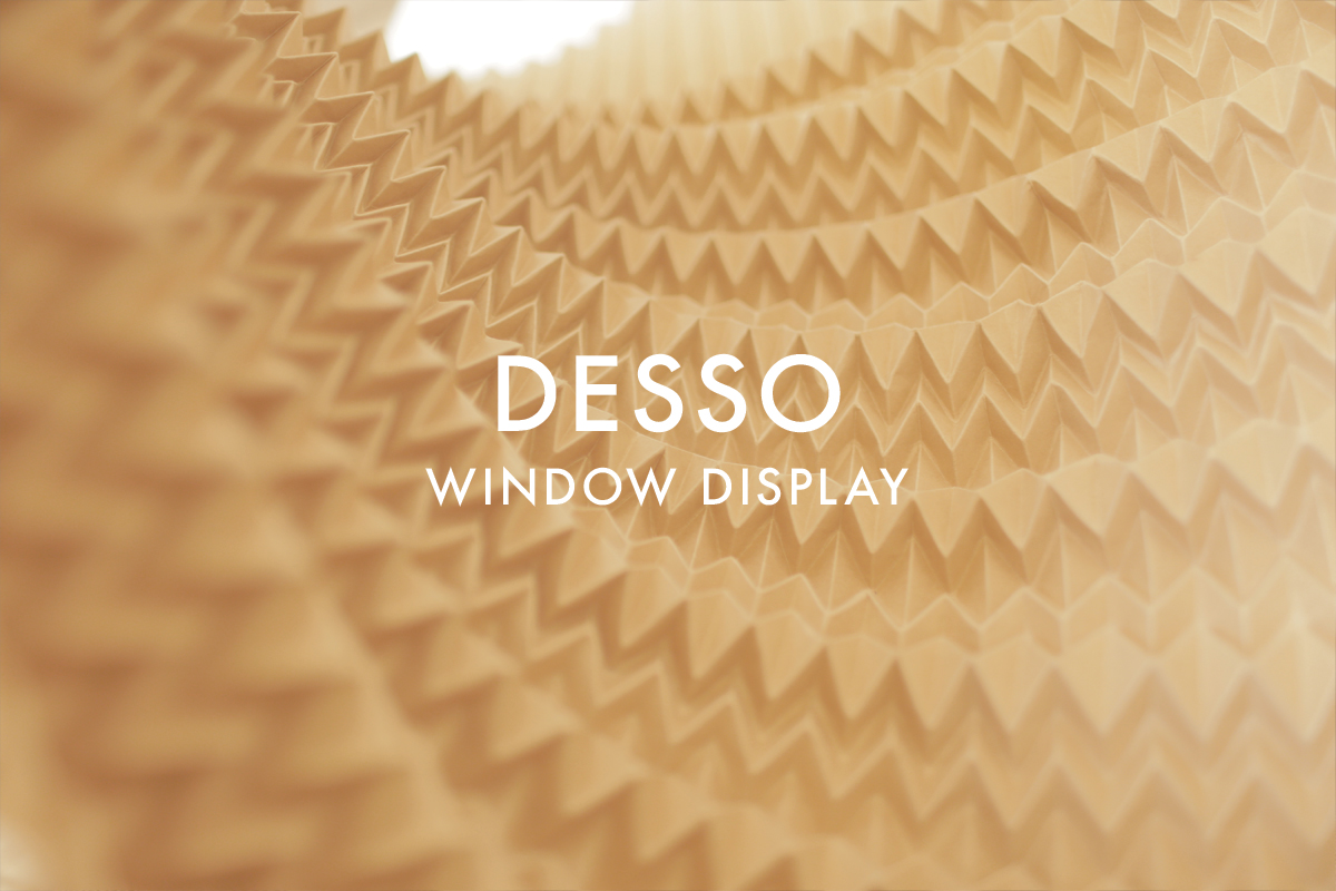 set design window display gesso