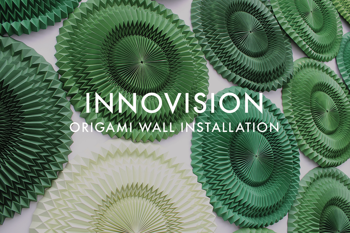 origami installation for innovation