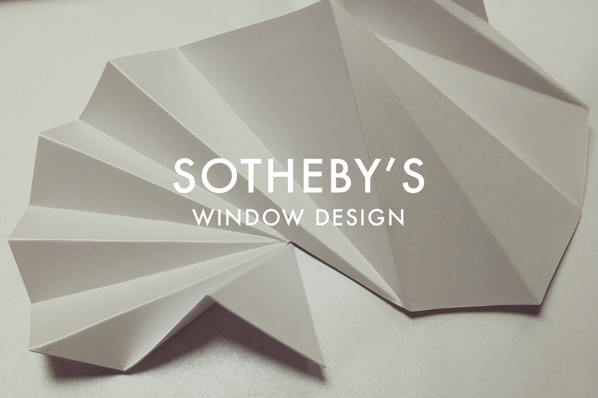Set Design for Sotheby's