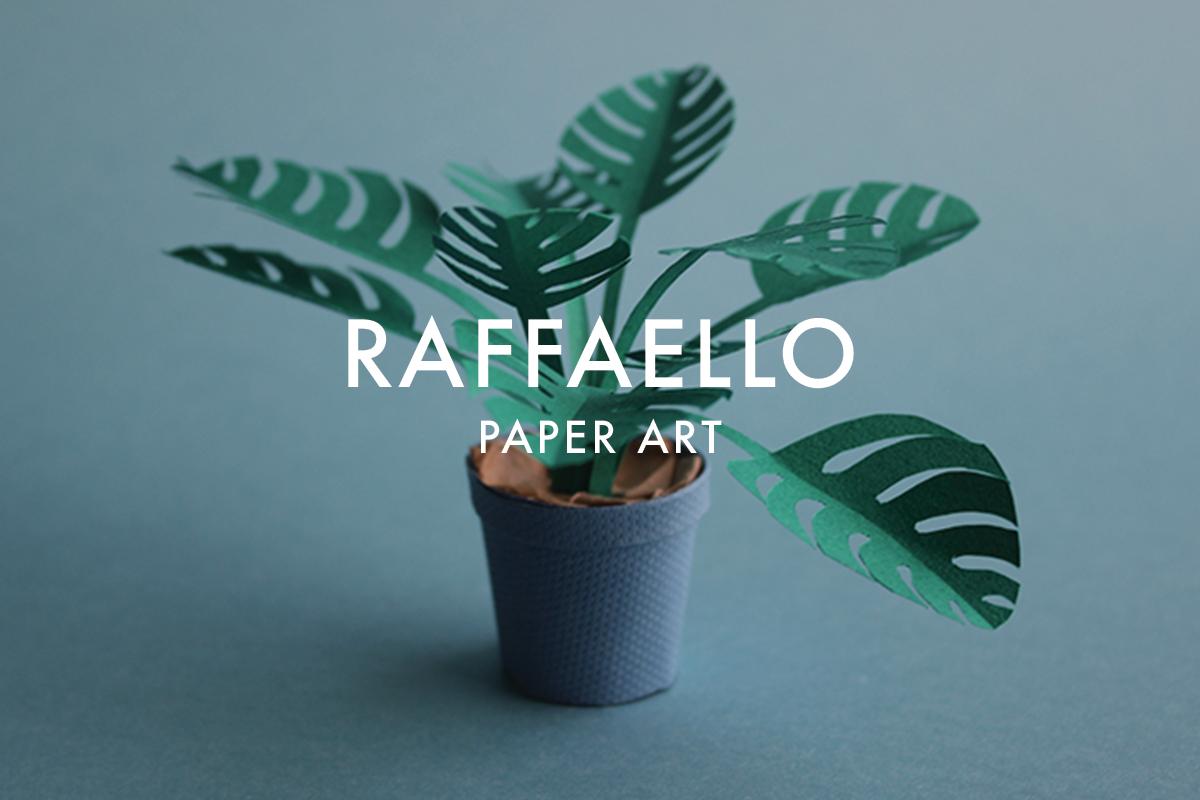 Paper art for Raffaello