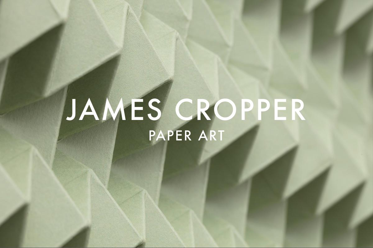Paper art for James Cropper