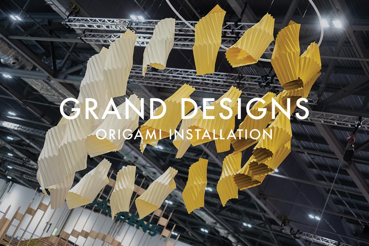Origami Installation Grand Designs Live