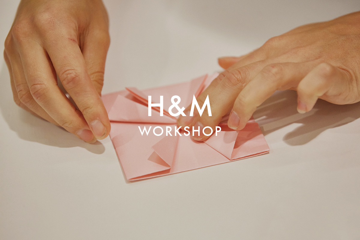 ORIGAMI-WORKSHOP-H&M-LONDON