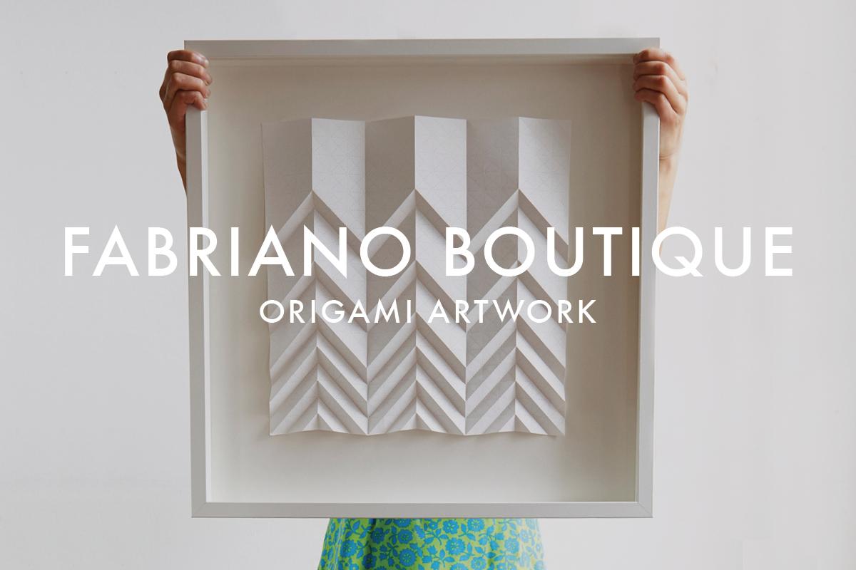 ORIGAMI ARTWORK FRAMED PAPER ART