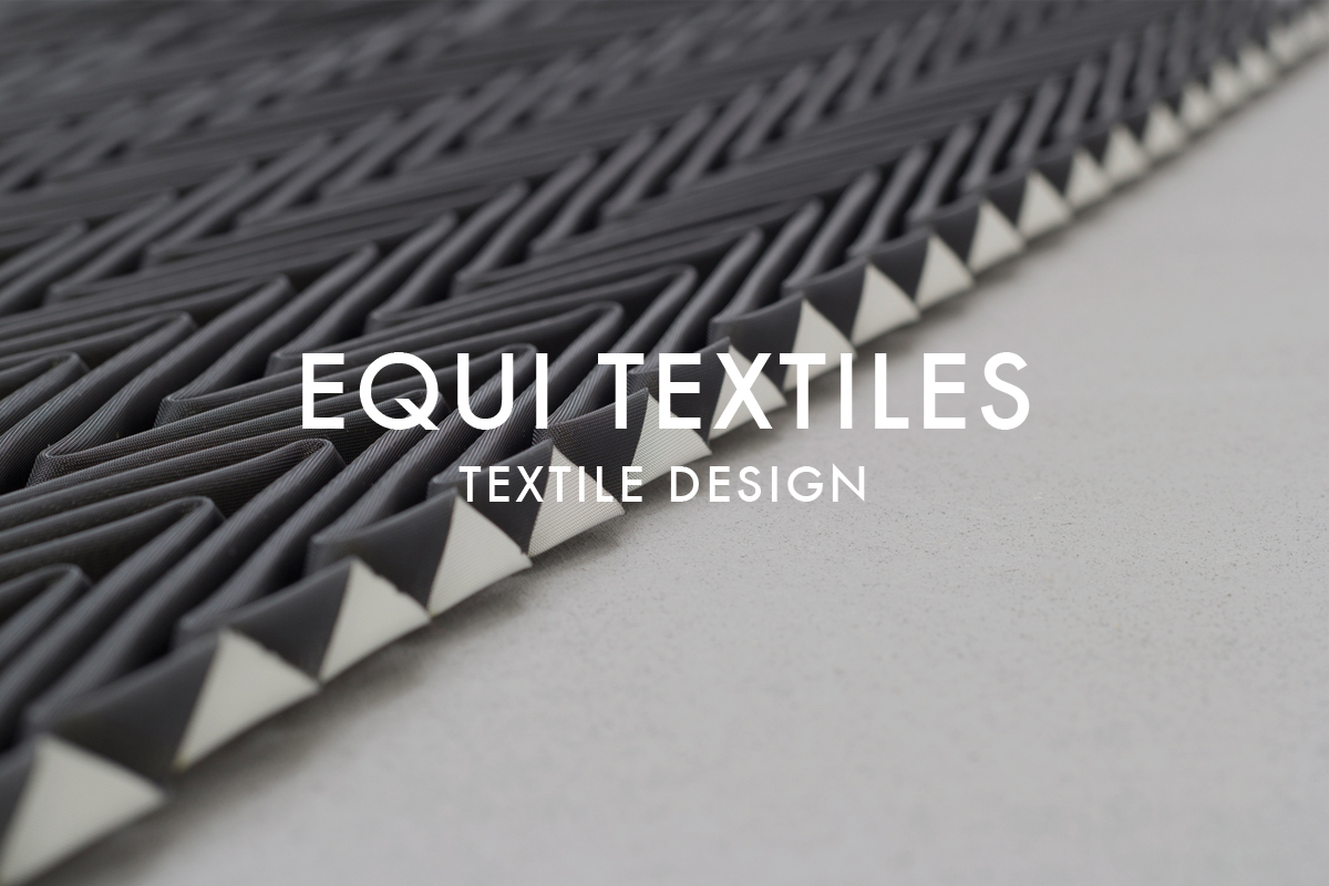 Origami fabric collection folded Equi Textiles metallic