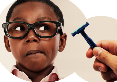 As black males we are taught to shave way too early, and forced to use products that were not designed for our skin.