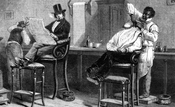 This illustration is from a News Paper article from 1861