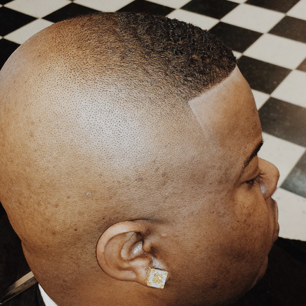 Notice how high the fade goes on this cut!