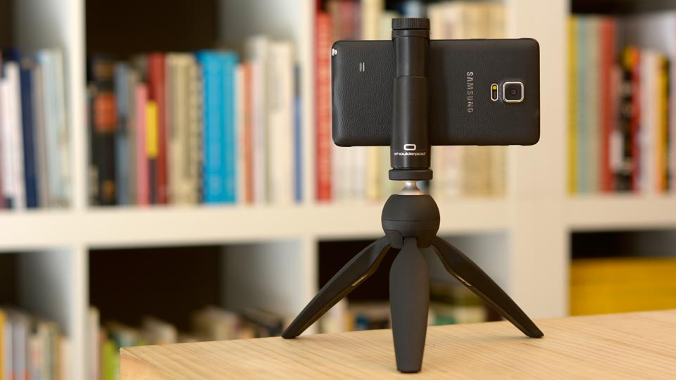 Samsung Galaxy Note 4 tripod mount adapter