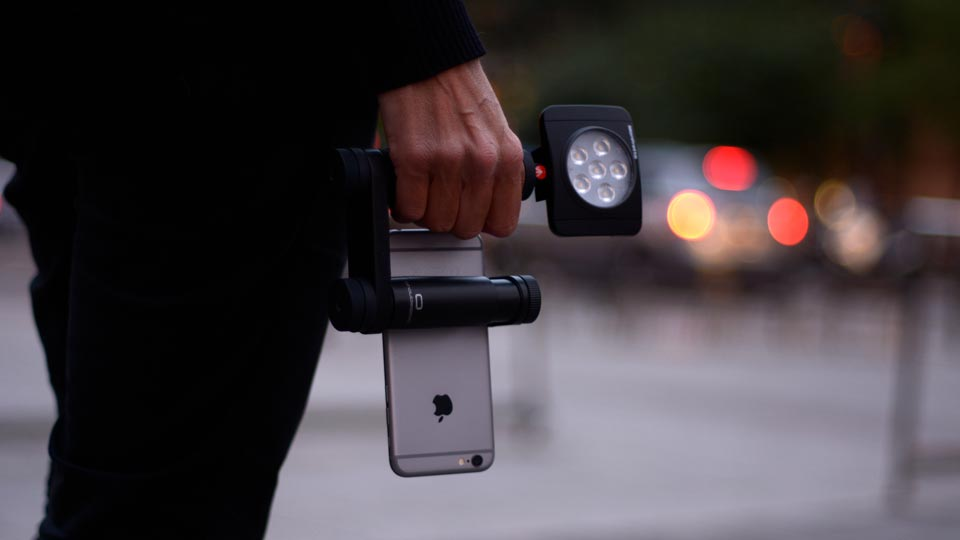 Shoulderpod R1 Go iPhone rig and handle