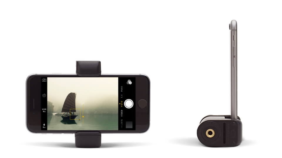 Shoulderpod S2 Traveller Stand and tripod mount adapter for iPhone