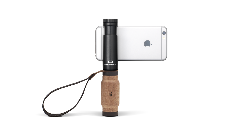 Shoulderpod S2 handle grip stabilizer for iPhone