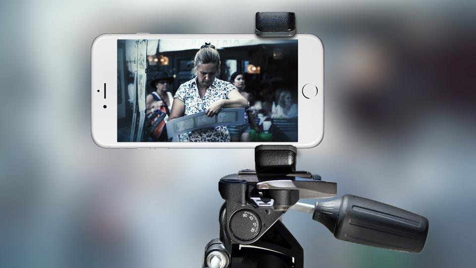 new concept 87f0f 0c006 SHOULDERPOD — Shoulderpod G1 - Tripod mount adapter for iPhone X 6 7 ...