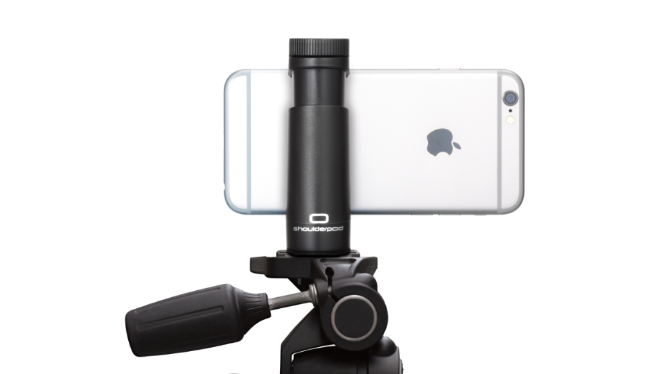 Shoulderpod S2 tripod mount adapter for iPhone and samsung galaxy