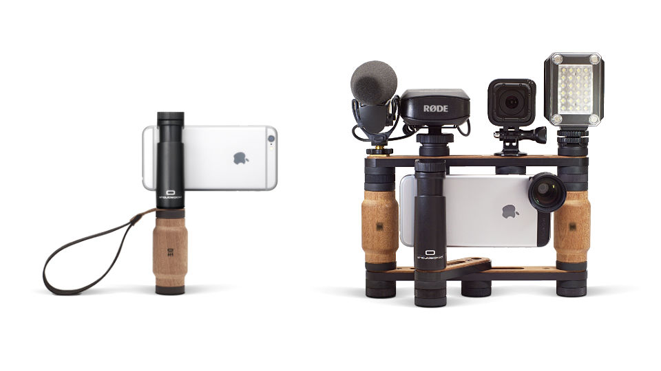Shoulderpod S2 - handle grip stabilizer Modular system for smartphones