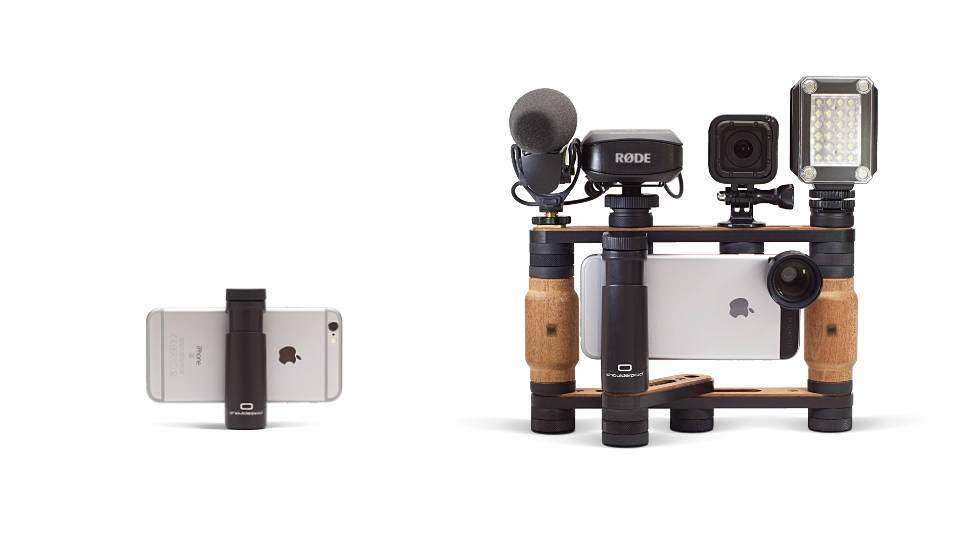 Shoulderpod G1 tripod mount for iphone modular system