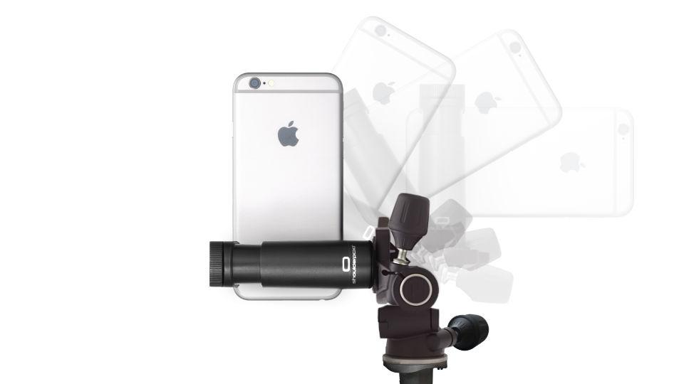 Shoulderpod G1 Tripod mount for iPhone portrait mode