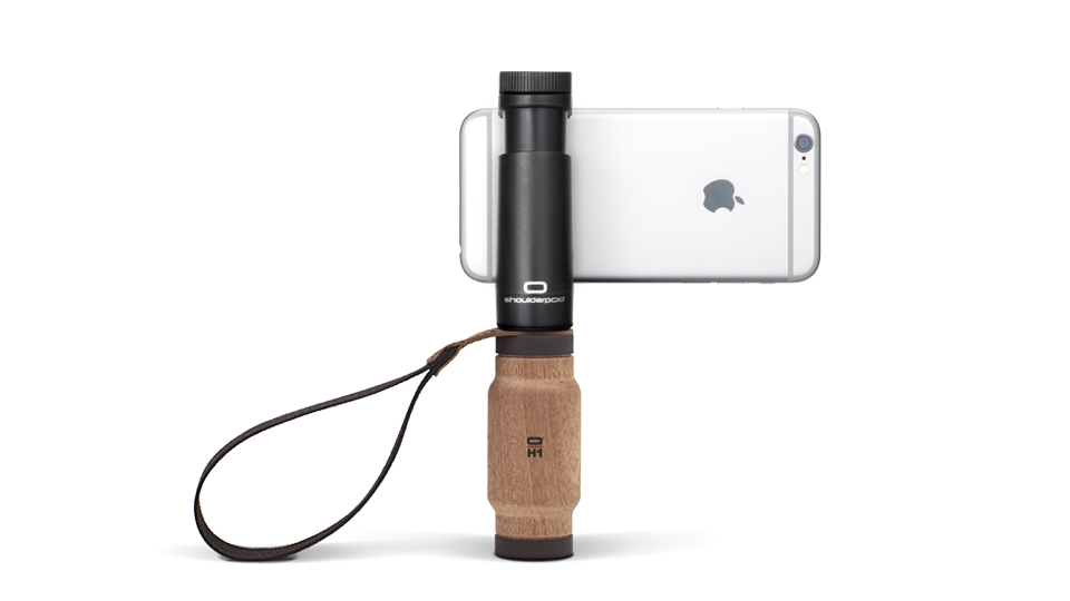 Shoulderpod S2 - handle grip video stabilizer for iPhone