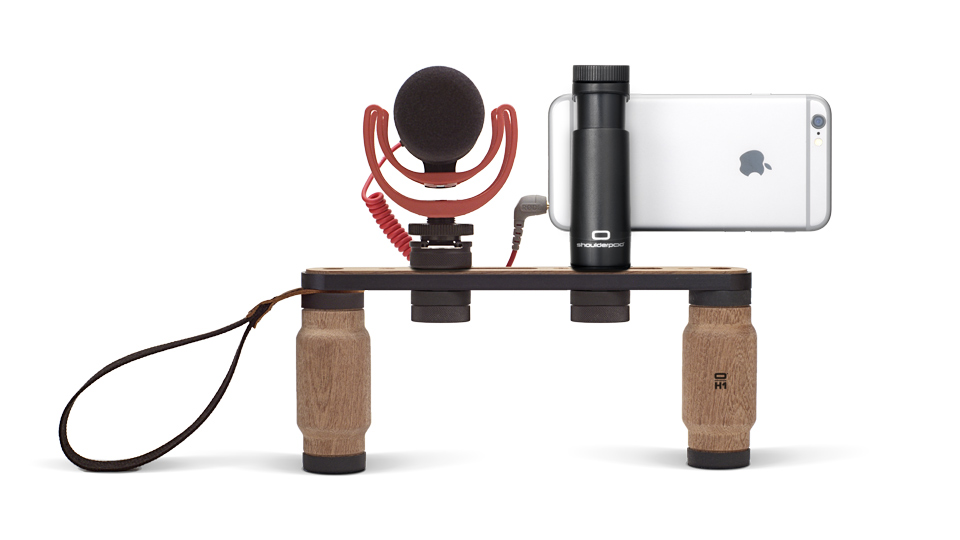 Shoulderpod X1 professional rig for iPhone