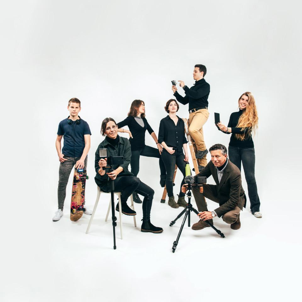 Shoulderpod Team in Barcelona