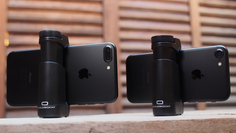 Shoulderpod G1 tripod mount adapter iphone 7 Plus