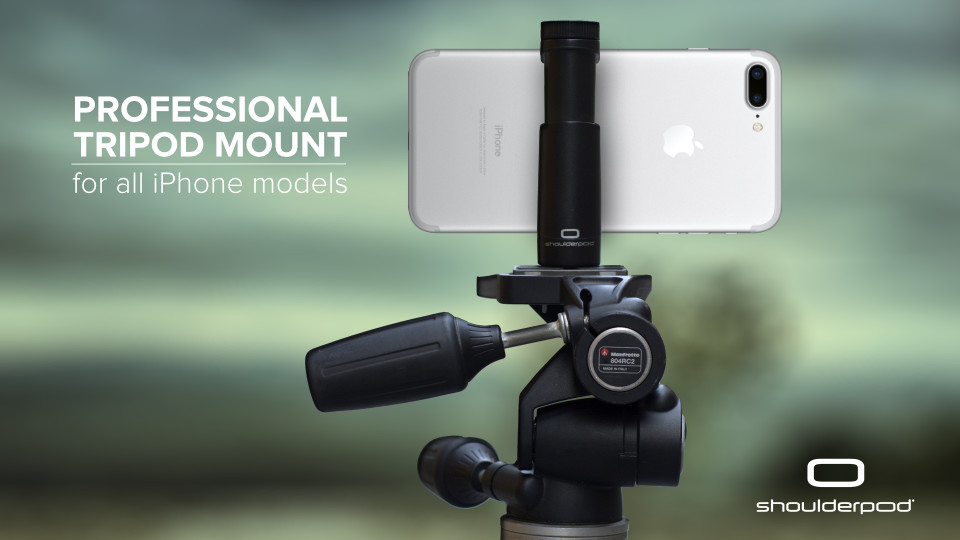 iPhone 6, 7, 8, X and Plus tripod mount adapter