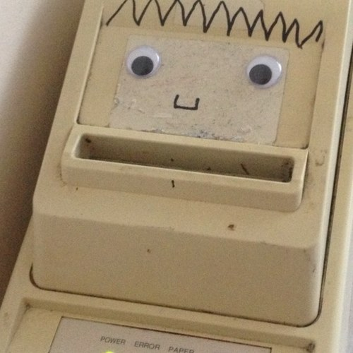Party Printer's face