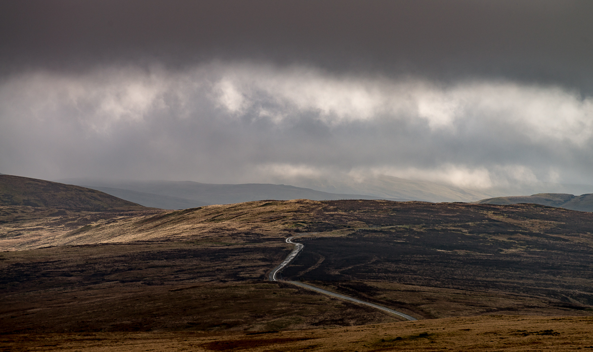 I'm not sure where this was taken yet I will have to retrace back my route, as you can see the light and weather was dramatic.
