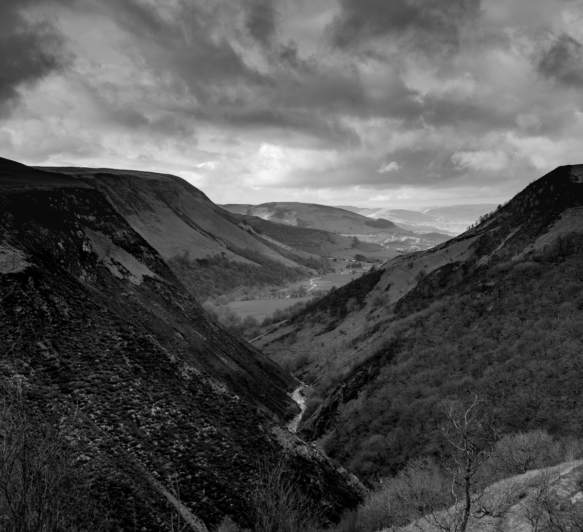 Dylife Gorge