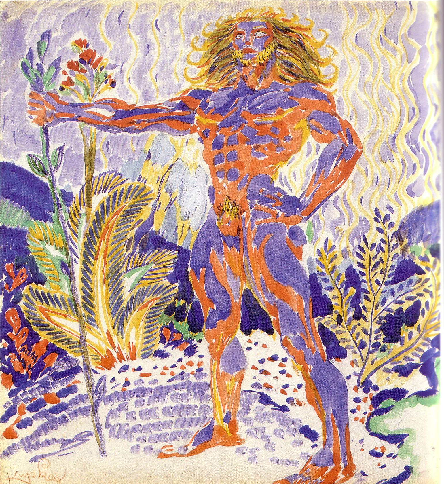 Prometheus, by Frantisek Kupka
