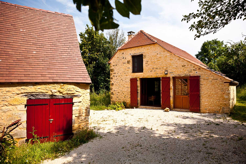 Verbouwde gîte 2012