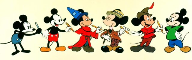 The neoteny of Mickey Mouse.