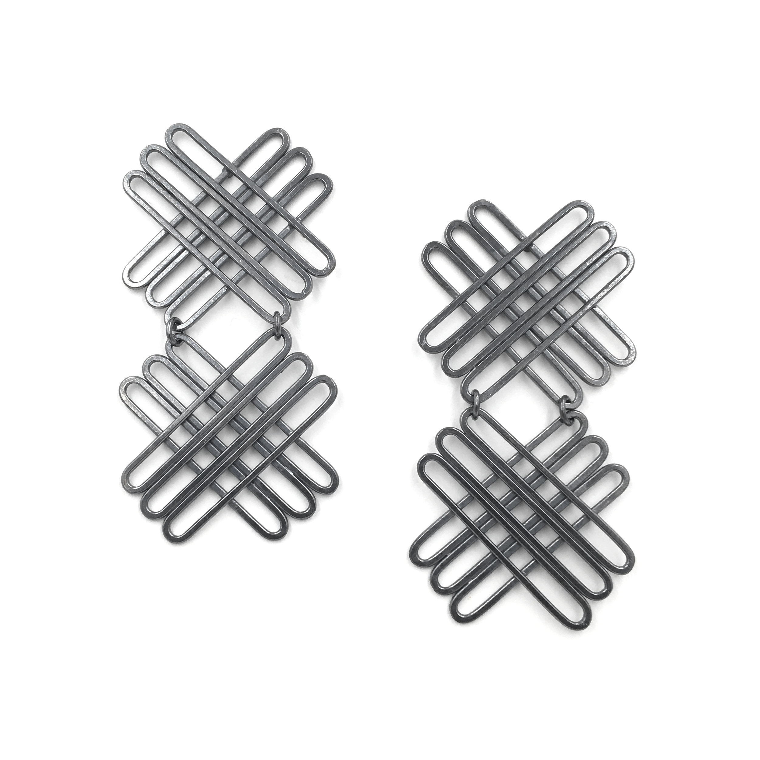 Double Hallmark Earrings